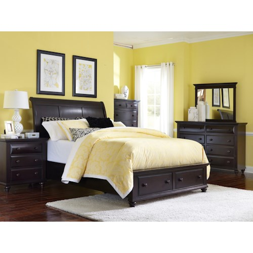 Broyhill Furniture Farnsworth Queen Bedroom Group