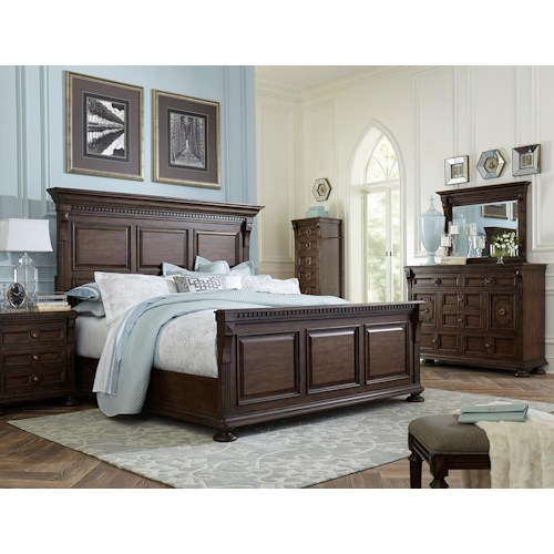 Broyhill Furniture Lyla King Bedroom Group