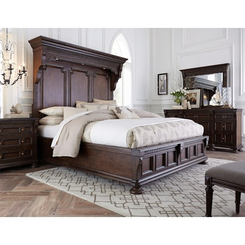 Broyhill Furniture Lyla Queen Bedroom Group