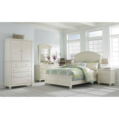 Broyhill Furniture Seabrooke King Bedroom Group