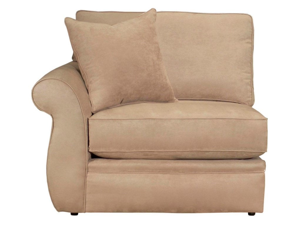 Configure Your Custom Sofa with Your Choice of Sectional Components, Including the LAF Chair