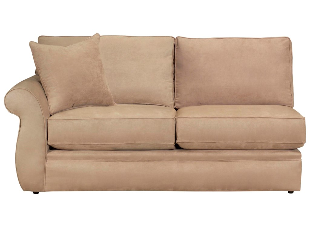 Configure Your Custom Sofa with Your Choice of Sectional Components, Including the LAF Full Sleeper Sofa