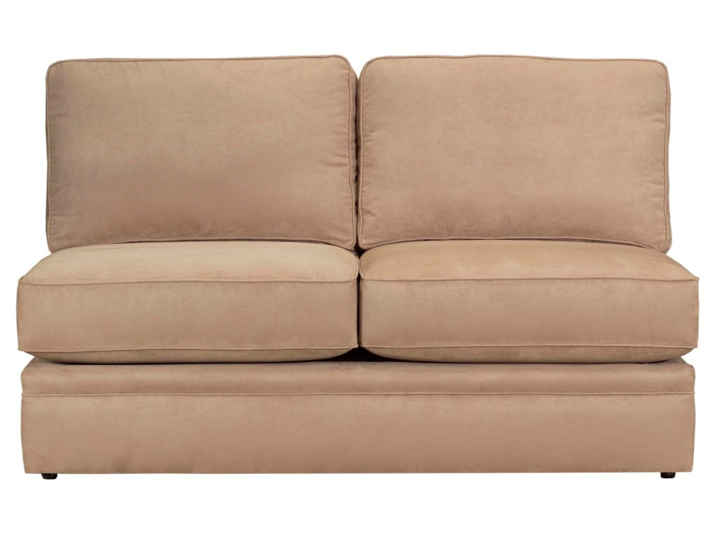 Configure Your Custom Sofa with Your Choice of Sectional Components, Including the Armless Full Sleeper Sofa