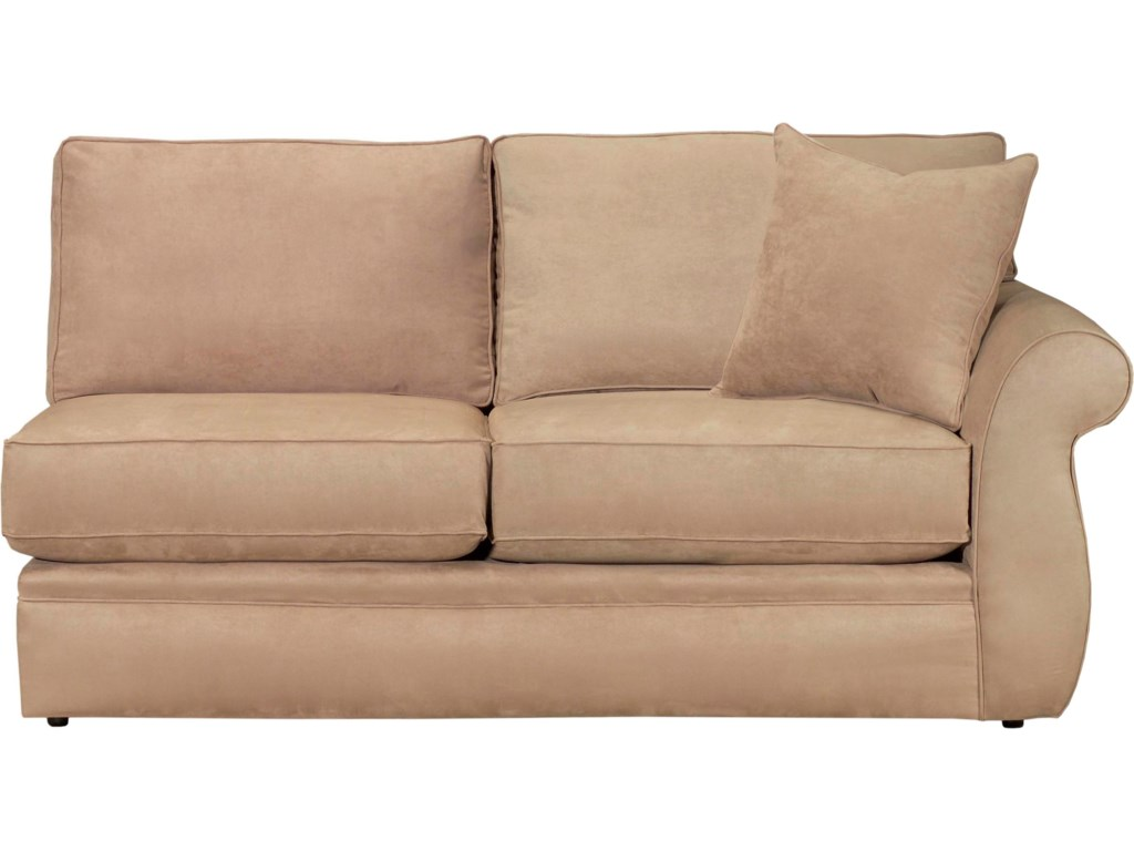 Configure Your Custom Sofa with Your Choice of Sectional Components, Including the RAF Loveseat