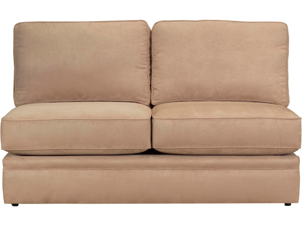 Configure Your Custom Sofa with Your Choice of Sectional Components, Including the Armless Loveseat