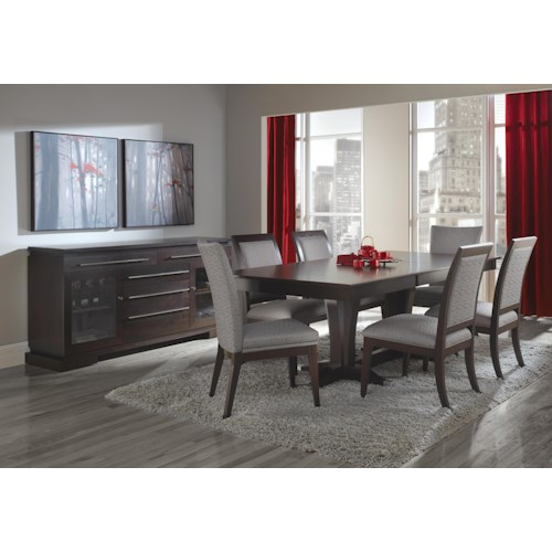 Canadel Custom Dining  Casual Dining Room Group