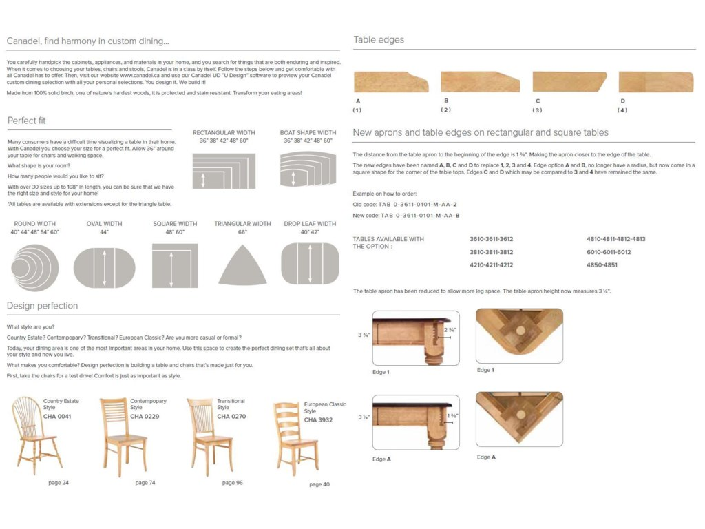 Find the Perfect Table Top Size for Your Home