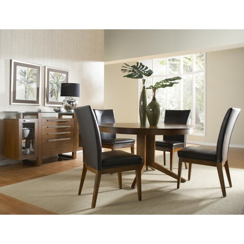 Canadel High Style - Custom Dining Casual Dining Room Group