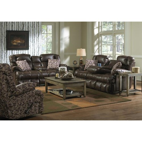 Catnapper Cedar Creek Reclining Living Room Group