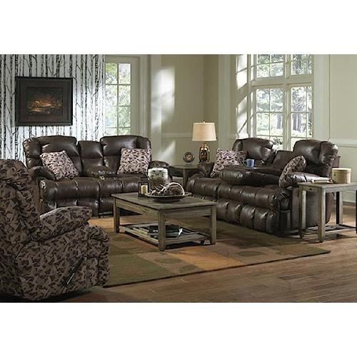 Catnapper Cedar Creek Reclining Living Room Group