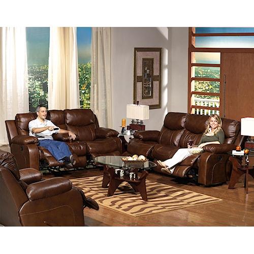 Catnapper Dallas  Reclining Living Room Group