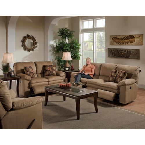 Catnapper Impulse 124 Reclining Living Room Group