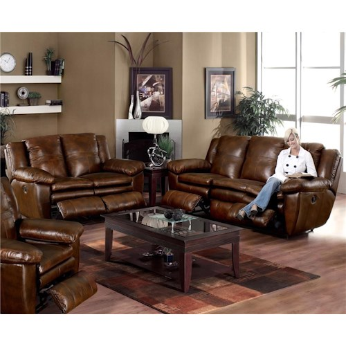 Catnapper Sonoma  Reclining Living Room Group