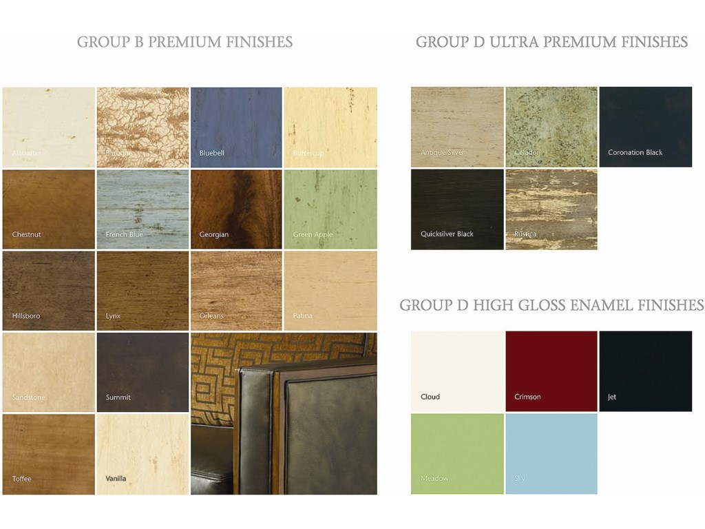 Premium, Ultra Premium and High Gloss Enamel Finishes Also Available
