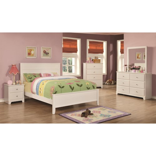 Coaster Ashton Collection Full Bedroom Group