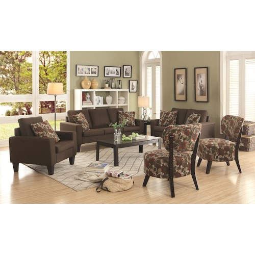 Coaster Bachman Stationary Living Room Group