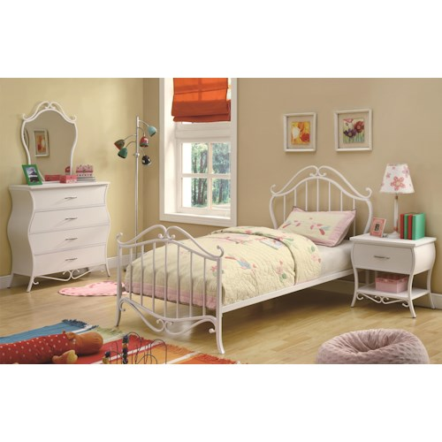 Coaster Bella Twin Bedroom Group