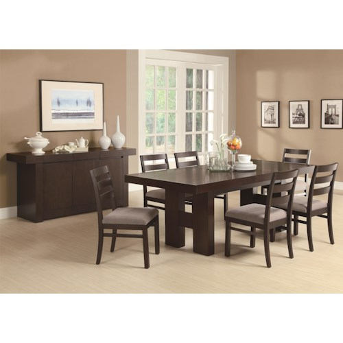 Coaster Dabny Casual Dining Room Group