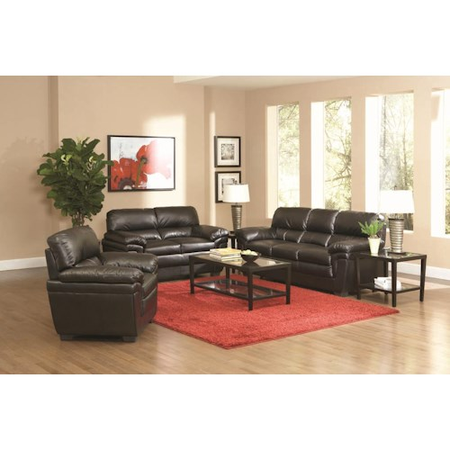 Coaster Fenmore Stationary Living Room Group