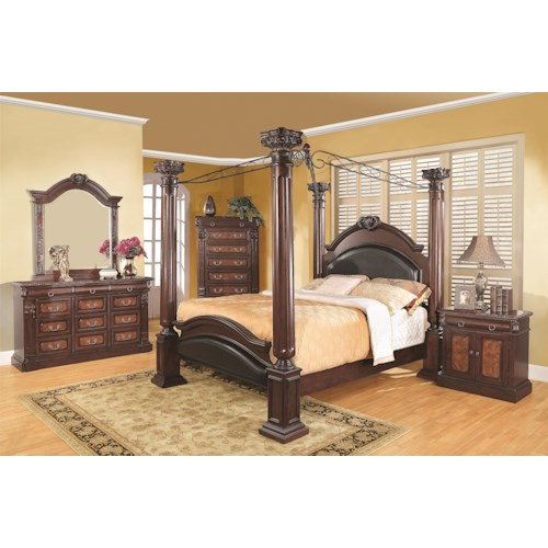 Coaster Grand Prado King Bedroom Group