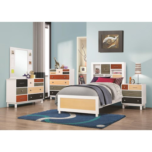 Coaster Lemoore Full Bedroom Group