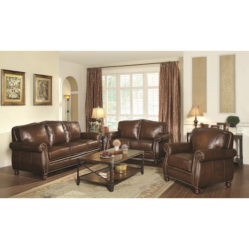 Coaster Montbrook Stationary Living Room Group