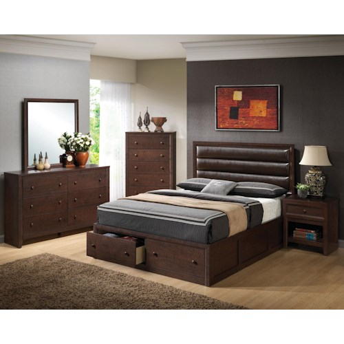 Coaster Remington California King Bedroom Group