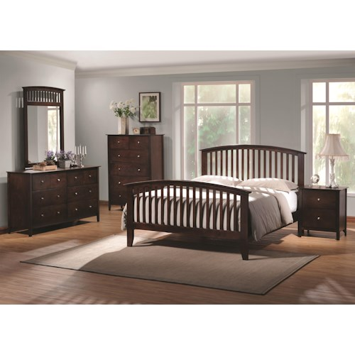 Coaster Tia Queen Bedroom Group