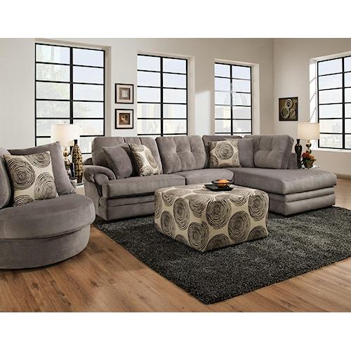 Corinthian 16B0 Stationary Living Room Group