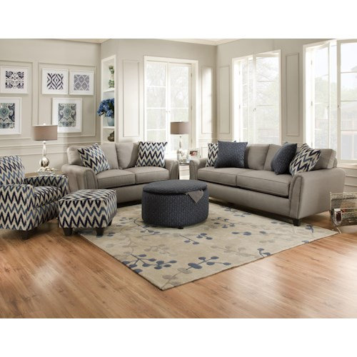 Corinthian 55A0 Stationary Living Room Group