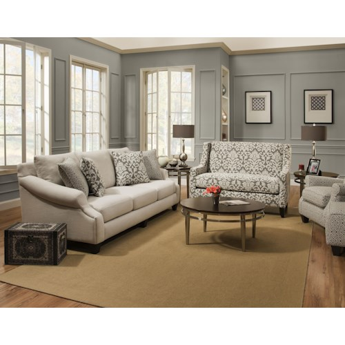 Corinthian 56A0 Stationary Living Room Group