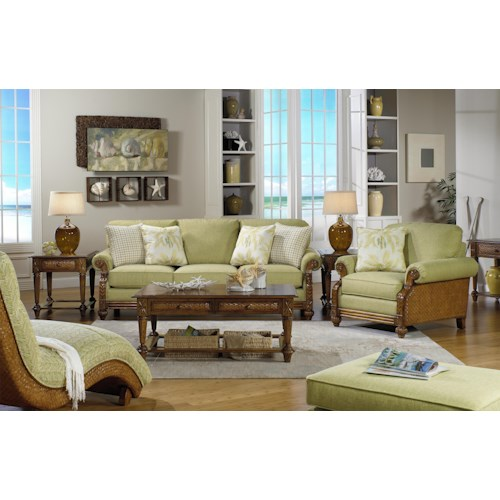 Craftmaster 722950 Stationary Living Room Group