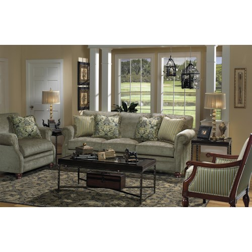 Craftmaster 7266 Stationary Living Room Group
