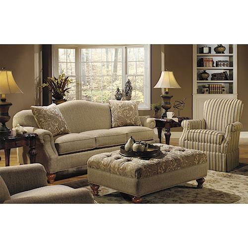 Craftmaster 728300 Stationary Living Room Group