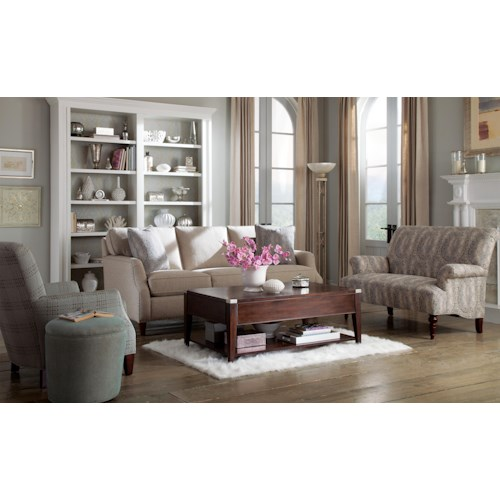 Craftmaster 736300 Stationary Living Room Group