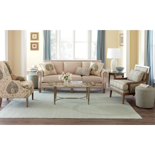 Craftmaster 747 Stationary Living Room Group