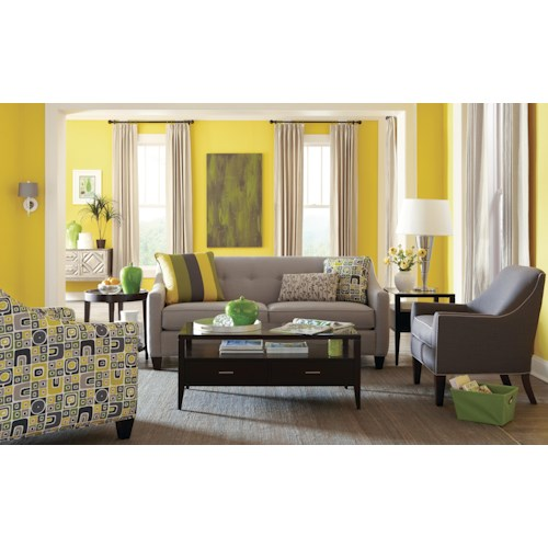 Craftmaster 748700 Stationary Living Room Group