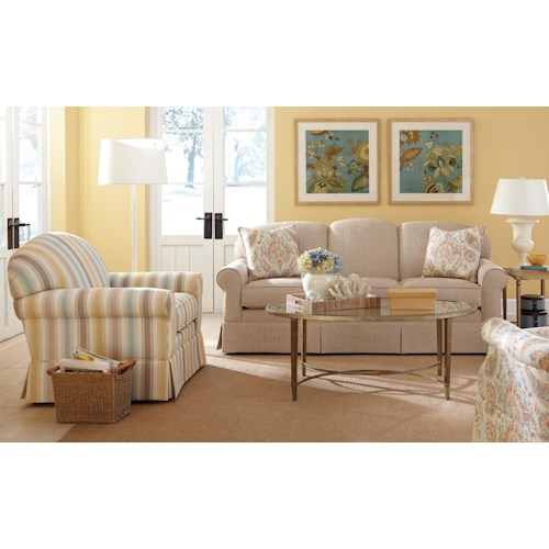 Craftmaster 918250 Stationary Living Room Group