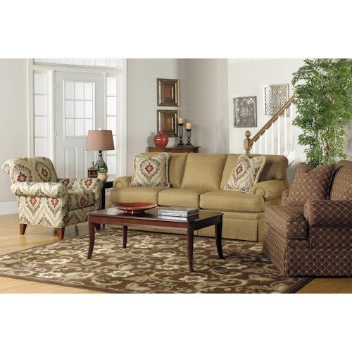 Craftmaster 937700 Stationary Living Room Group