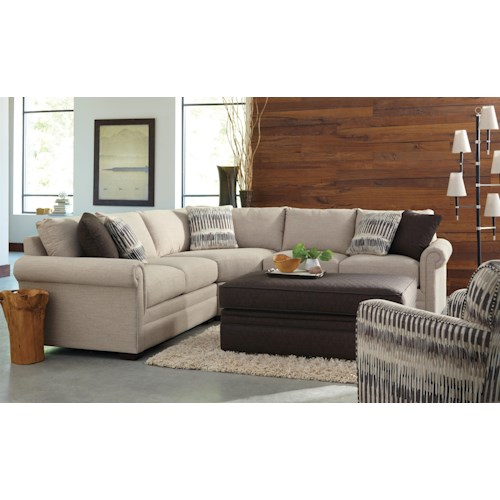 Craftmaster F9 Design Options Stationary Living Room Group