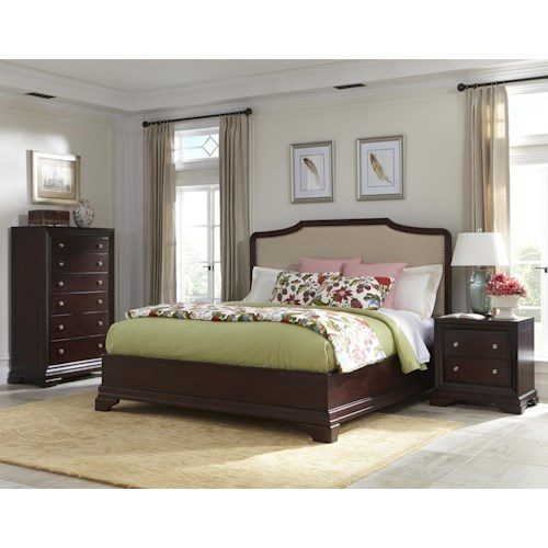 Cresent Fine Furniture Newport King Bedroom Group