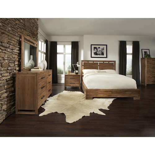 Cresent Fine Furniture Waverly King Bedroom Group