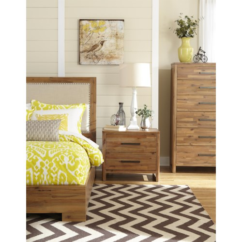 Cresent Fine Furniture Waverly Queen Bedroom Group