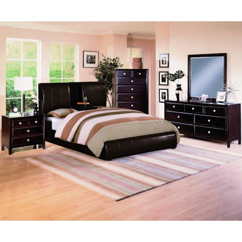 Crown Mark Flynn Queen Bedroom Group