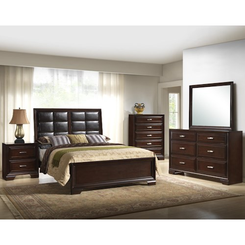 Crown Mark Jacob King Bedroom Group