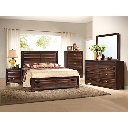 Crown Mark Stella King Bedroom Group