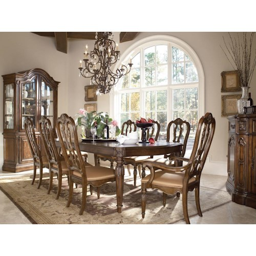 Drexel Heritage® Casa Vita Formal Dining Room Group