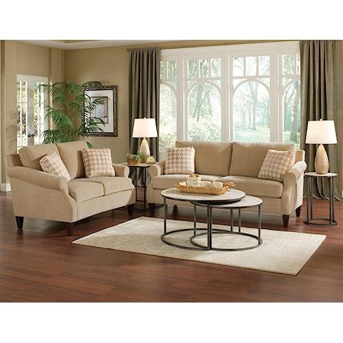 England Duke Stationary Living Room Group