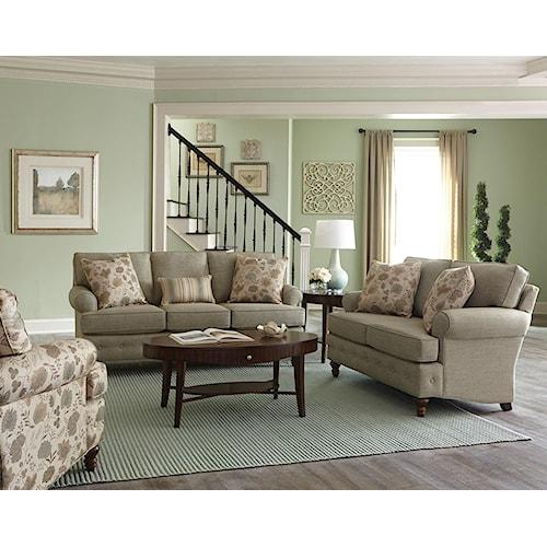 England Evans Stationary Living Room Group