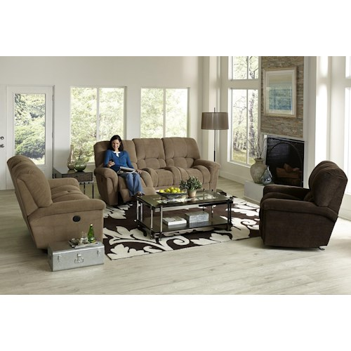 England McBrayar Reclining Living Room Group
